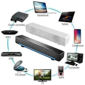 USB Sound Bar TV Soundbar Wired Home Theater TV Speaker for PC Mobile Phone MP3