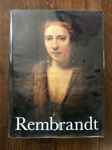 1968 REMBRANDT PAINTINGS HARDCOVER BOOK BY HORST GERSON $53.00