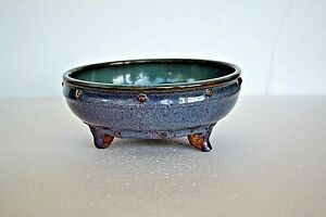VERY RARE ASIAN ANTIQUE 8-10th? C CHINESE POTTERY BOWL WITH 3 FEET