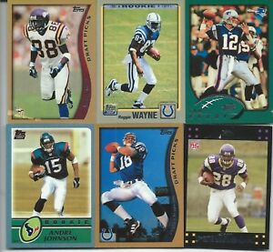Complete Your 2010 Topps Football Anniversary Reprint Set 20 Cards FREE SHIPPING $23.95