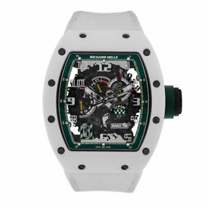 Richard Mille Le Mans Classic Limited Edition White Ceramic Watch RM030
