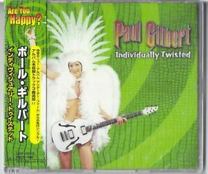 Paul Gilbert ‎– Individually Twisted  Japan  Brand New  Still Sealed  PHCR-8466