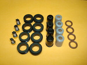 Fuel Injector O ring Seal Filter Pintle Cap Kit: Fits Toyota Tacoma 22RE $15.99