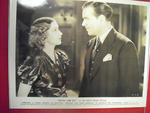 RKO Black & White 8 x 10 Movie Stills from the 1936 Movie Muss Em up