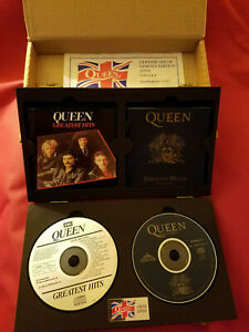 QUEEN Extremely Rare & Limited Edition UK CD Box Set Vols I & II # 0087 of 5000