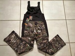 UNDER ARMOUR STORM Hunting Bib Forest Camo Mid Season Kit Women's Small