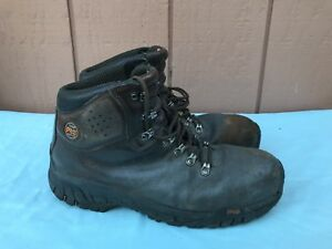 Timberland Pro Titan Safety Toe Used Work Brown Boots Shoes 47028 Size 11M AX