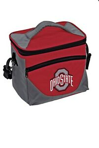 "New Ohio State Buckeyes Halftime Lunch Cooler Tote Tailgating 9.5""x 6""x 8"""