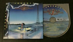 Journey Raised On Radio CD Japan BSCD2 With Obi inserts Steve Perry Neal Schon