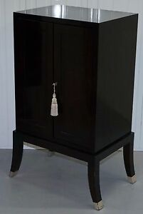 CHINESE LACQUERED CABINET WITH BANK  CHEST OF DRAWERS INSIDE LUXURY DESIGNER