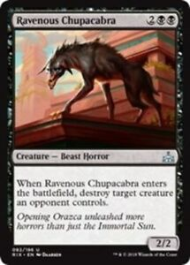 4x Ravenous Chupacabra NM-Mint English Rivals of Ixalan MTG Magic