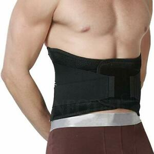 Neotech Care Back Brace Lumbar Support Belt Protection Adjustable Breathable  -L