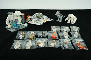 Lego Star Wars Assault On Hoth Set 75098 Mini Figures R3-A2 K-3PO Snowspeeder