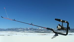 Ice N Easy ice fishing rod 18 inch medium heavy action