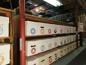 Huge Billboard Hot 100 & Bubbling Under 45 rpm Collection 22387 Records