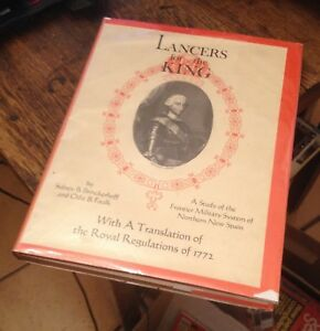 Lancers for the King NEW SPAIN MILITARY HISTORY Brinckerhoff 1965 RARE Look!