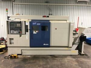 2015 MURATEC MT200T2 TWIN SPINDLE CNC TURNING MACHINE W Y-AXIS LIVE TOOLS