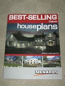 Best-Selling Deluxe House Plans Menards 43 pages color by Advanced Houseplans