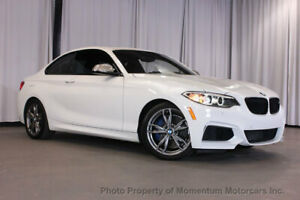 2015 BMW 2 Series M235i M235i 2 Series ALPINE WHITE WITH 6 SPEED MANUAL STILL UNDER WARRANTY! 2 dr Coupe