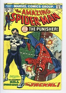 Amazing Spider-Man #129 Vol 1 Very High Grade 1st Appeaerance of the Punisher