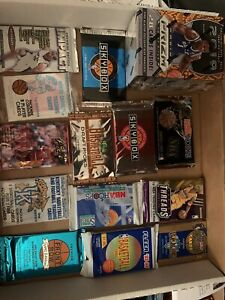 HUGE LOT of BASKETBALL Cards  Jersey Auto Bonus Basketball Card Lot Pack Lot