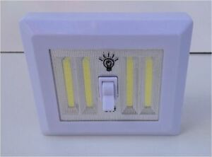 Promier Products 218572 COB LED Light Switch XL 400 Lumens Jumbo Cordless