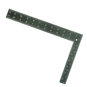 Metal L Shape Quilting Ruler 90 Degree Ruler for Garment Pattern DressMaking $10.16