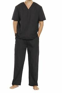 Unisex Scrub Sets Medical Scrubs V Neck