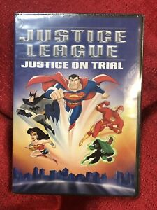 Justice League On Trial DVD Wonder Woman Batman Superman New Sealed $5.09