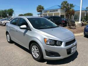 2016 Chevrolet Sonic LT Auto 2016 Chevrolet Sonic Silver Ice Metallic with 64045 Miles available now!