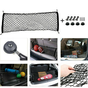 2019 New Car Envelope Style Trunk Cargo Net Universal