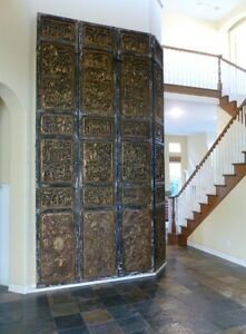 Taoist Temple Doors Beijing Hand Crafted Temple Of Heaven Doors VERY RARE Enjoy!