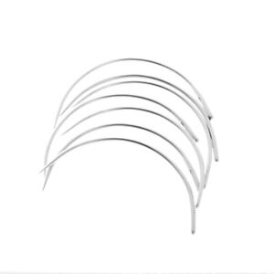 50pcs C Curved Needles Hand Sewing Needle for Household Mattress Upholstery $7.59