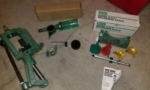 LIMITED SALE*RCBS RELOADING EQUIPMENT MODEL 5•0•5 SCALE UNIFLOW POWDER NEW $400+