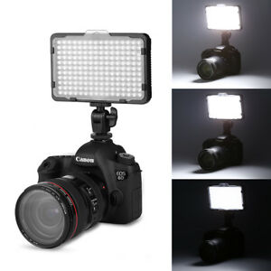 Craphy LED Video Light Dimmable Panel+2 Color Filters for JVC DSLR DV Camcorder