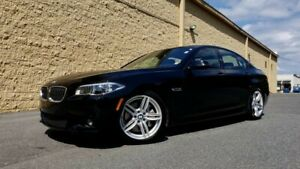 2016 BMW 5-Series  2016 BMW 535I M-SPORT*DRIVER ASST PLUS*NAV*SNRF*RRVW*1-OWNER*$0 DOWN*$464 MONTH