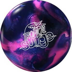NEW Storm Tropical Surge Reactive Resin Bowling Ball PinkPurple 10-12 LB