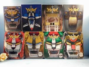 Voltron Defender of the universe Complete Series Volumes 1-8 NEW