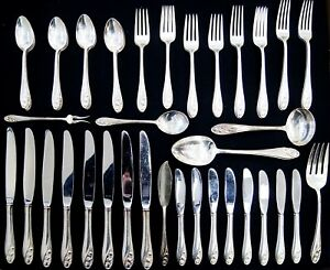 Gorham LILY OF THE VALLEY Sterling Silver Flatware Set (A5668)