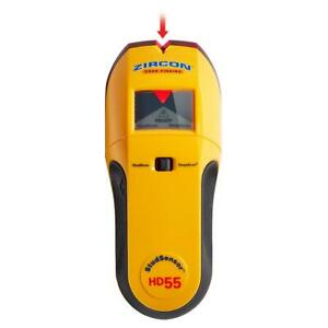Zircon StudSensor HD55 Stud Finder 1 1/2 in (38 mm) with Wire Warning - Sealed
