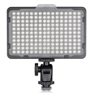 Neewer On Camera Video Light Dimmable 176 LED Panel with 14