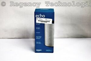 AMAZON ECHO SMART SPEAKER  B06XXM5BPP  SANDSTONE FABRIC FACTORY SEALED