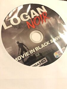 LOGAN NOIR Black & White 4K ULTRA HD DISC ONLY -No Case -No Blu Ray - No Digital