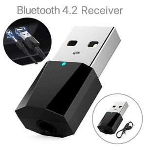 Wireless USB Bluetooth 4.2 Audio HIFI Music Receiver Dongle Fit For TV PC MP3