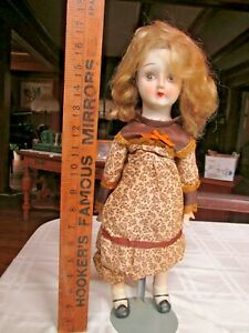 Vintage Doll from the 50's 17.5 inches tall porcelain head, hands , legs  #2
