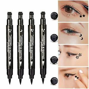 1 Ps Winged Stamp Eyeliner Waterproof Makeup Cosmetic Eye Liner Pencil Liquid US