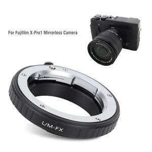 LM-FX Lens Adapter Ring for Leica M Lens to for Fujifilm X-Pro1 Mirrorless Cam