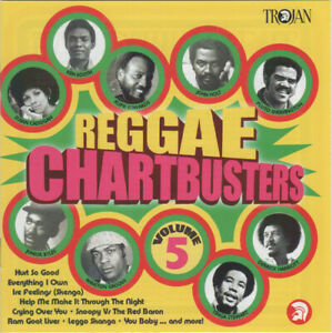 Reggae Chartbusters Vol. 5 - Various Artists (NEW & SEALED CD) TROJAN RECORDS