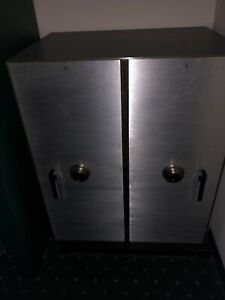 large heavy duty bank gun double safe unit with working combination locks $1200.00