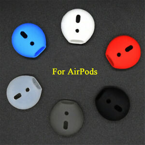 Silicone Earbuds Cover Ear pads Case Earplug Protector For Apple AirPods